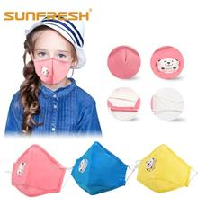 1PCS Cotton Dustproof Mouth Face Mask Anime Cartoon Kpop Lucky Bear Childrens Muffle Masks dust mask anime maska