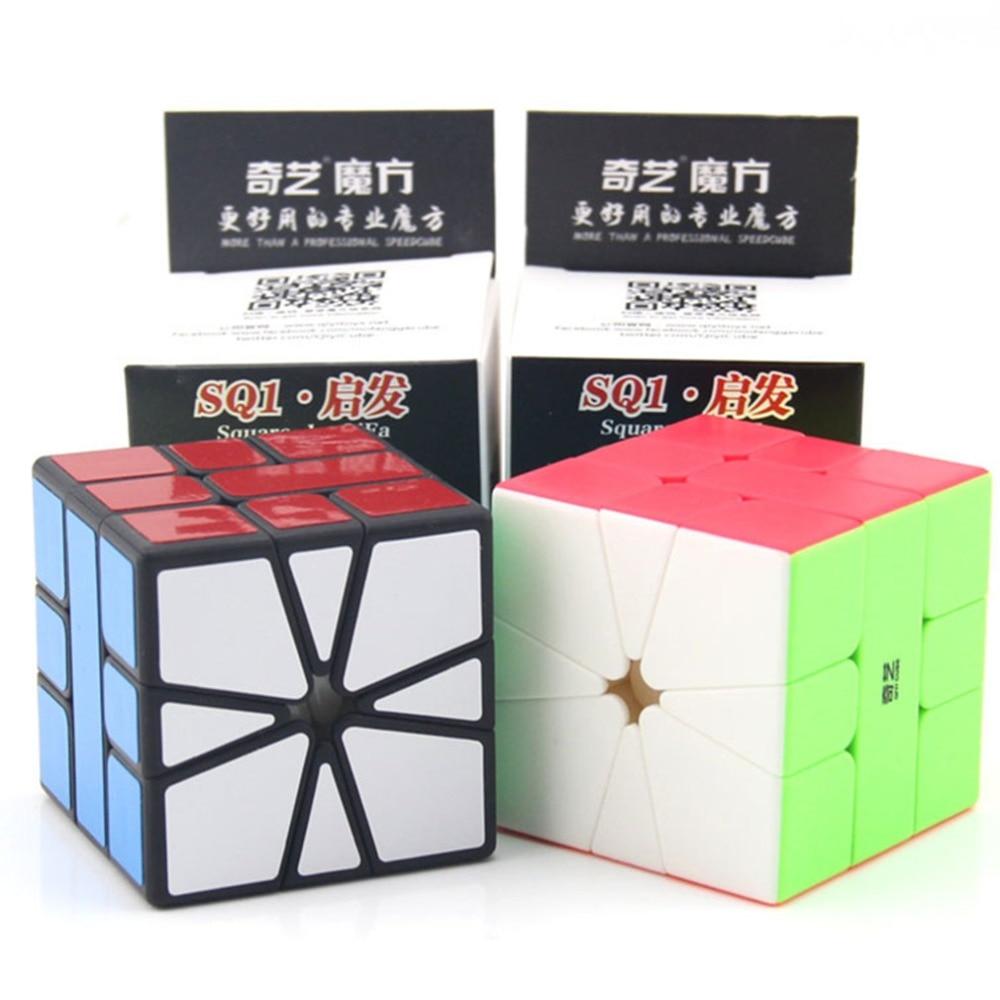 Newest Qiyi Qifa SQ-1 Magic Cube Puzzle Square 1 Speed Cube SQ1 Mofangge Twisty Learning Educational Kids Toys Game StickerNewest Qiyi Qifa SQ-1 Magic Cube Puzzle Square 1 Speed Cube SQ1 Mofangge Twisty Learning Educational Kids Toys Game Sticker