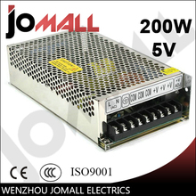 200w 5v 40a Single Output hot online power supply switching