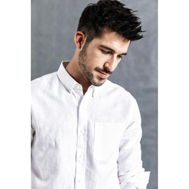 Breathable summer Shirts in pure linen and cotton