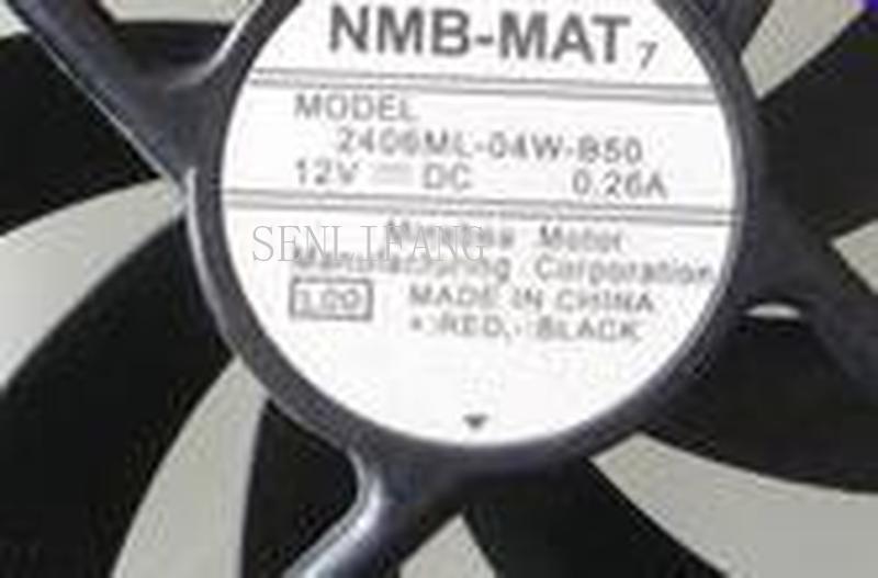 For NMB 6CM 2406ML-04W-B50 6015 12V 0.26 Cooling Fan