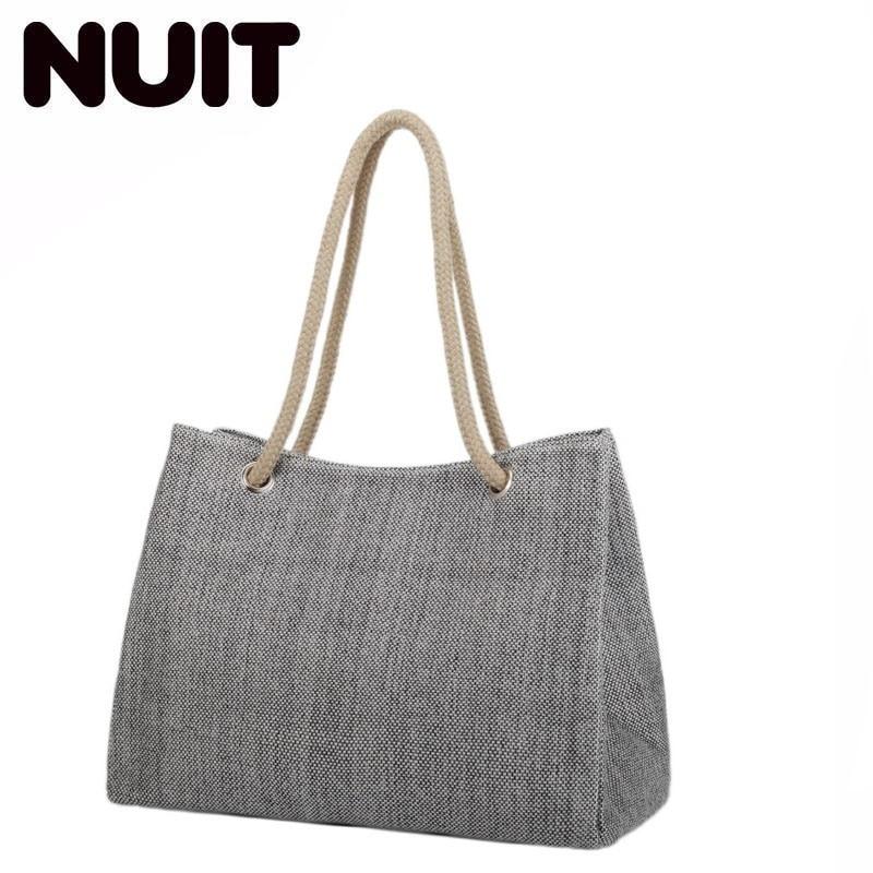 Women Shoulder Bags Female Handbag Canvas Bag Ladies Handbag Large Capacity Casual Totes Big Shopping Bag Brand Designer in Shoulder Bags from Luggage Bags