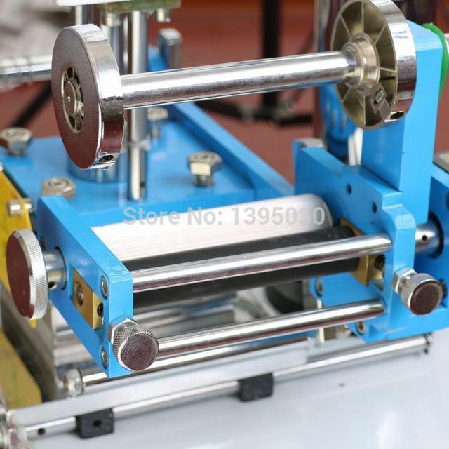 Machine destampillage automatique de 220 V, machine de pliage de LOGO en cuir, machine de mots de pression, stampler de LOGO, machine destampillage de carte nominative