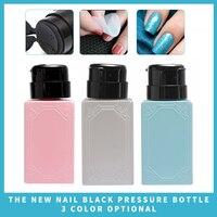 150ml Nail Remover Nail Press Bottle Pump Dispenser Bottle Nail Art Acetone Polish Makeup Remover Manicure Wholesale Health & Beauty