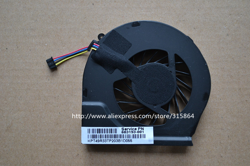 New laptop cpu cooling fan for HP G6-2327TX 2146 G4-2219TX 2000 TPN-Q110 image