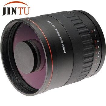 JINTU-lente de espejo f/8 HD de 900mm con Funda de cuero +...