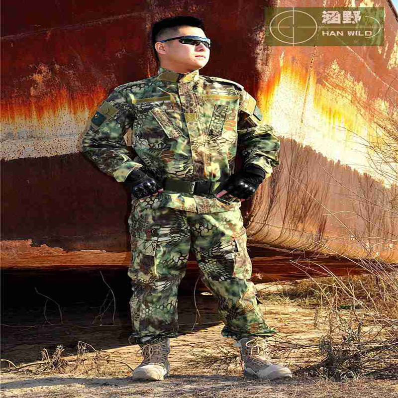 Military camouflage suits hunting clothing camouflage curtains clothes TACTICAL suit camouflage hunting equipment windproof realtree camouflage suits wild hunting clothing oem vision
