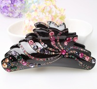 Wholesale Fashion Jewelry Dozen Hair Clip Rhinestone Spin Pin Hair Accessoires Bijoux De Tete AA48