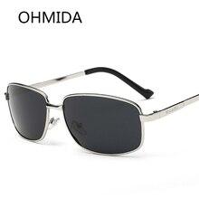 OHMIDA Promociones Nueva Moda Sport gafas de Sol de Los Hombres Diseñador de la Marca Al Aire Libre Gafas de Sol de Conducción Del Conductor gafas de sol oculos