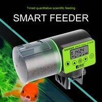 2 в 1 ручной и умный автоматический податчик для рыбы таймер для аквариума питатель цифровой аквариум Электрический кормушка для рыб кормуш...