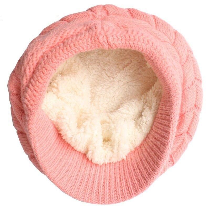 Elegante mulheres chapéu de inverno e outono gorros malha chapéus de pele  de coelho Cap outono e inverno feminino moda feminina Skullies em Skullies  ... fa71a0861fb