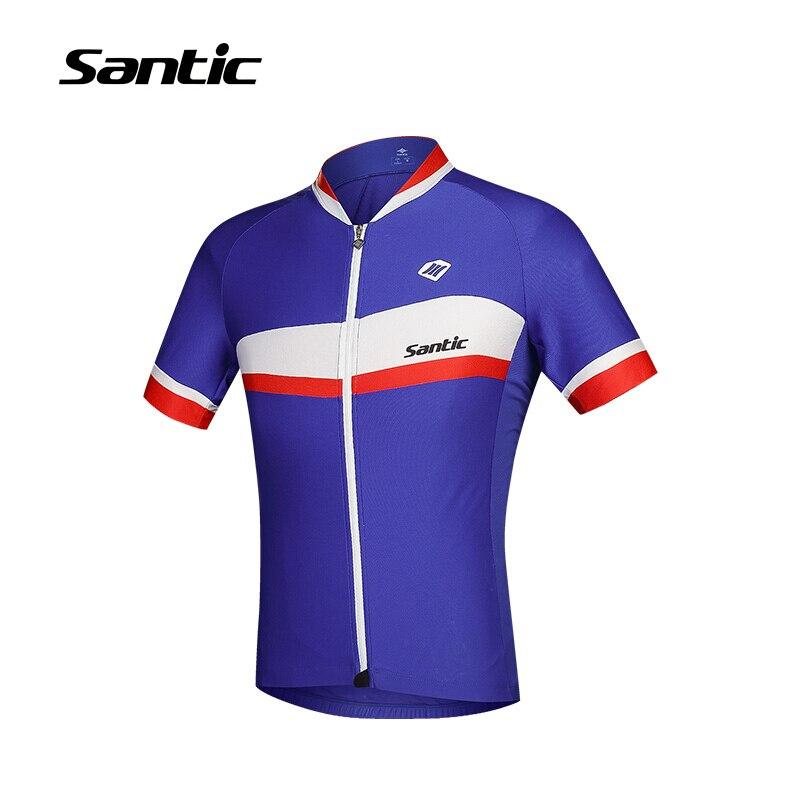 2018 Новые поступления Велоспорт Джерси с коротким рукавом верхней велосипед MTB Джерси одежда мужчины Велоспорт clothingT футболка Сантич