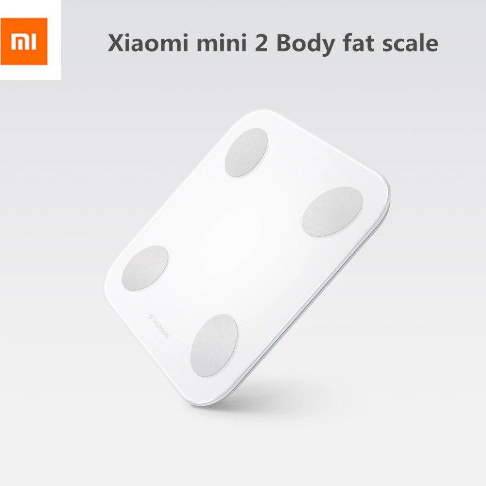 (Version internationale) balance de graisse corporelle d'origine Xiao mi Yunmai mi ni 2 avec moniteur de Composition bluetooth affichage de LED