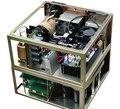Solda a laser/máquina de corte de energia/caixa de máquina de solda A Laser fonte de alimentação do laser/luz duplo