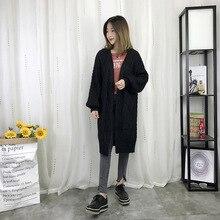 Новинка весна/осень женские свитера трикотажные кардиганы свитера для беременных женская одежда длинная верхняя одежда 880