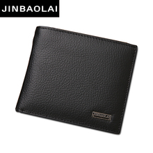 Luxury 100 Genuine Leather font b Wallets b font Fashion Short Bifold font b Men b