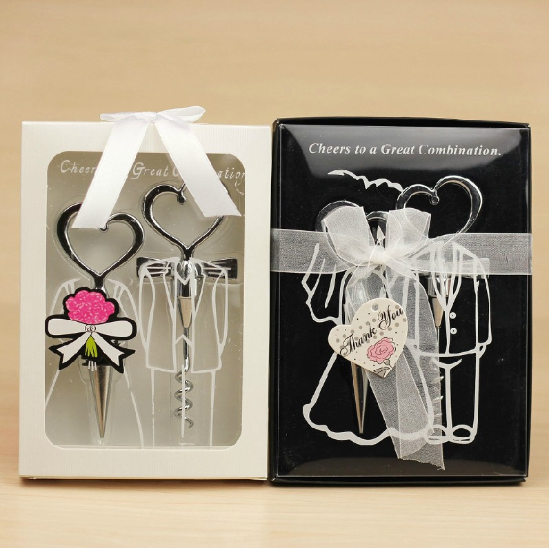A Great Wedding Gift: Cheers To A Great Combination Wine Stopper In Gift Box