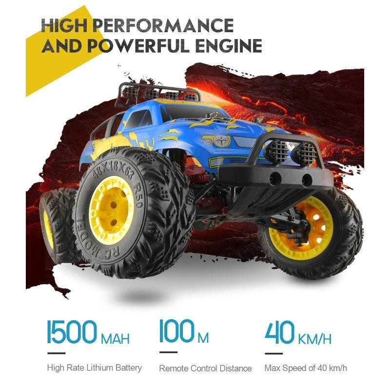 JJRC Q40 1:12 2.4G 4WD Short-course Truck Rock Crawler Off Road RC Car Mad Man Remote Control Car