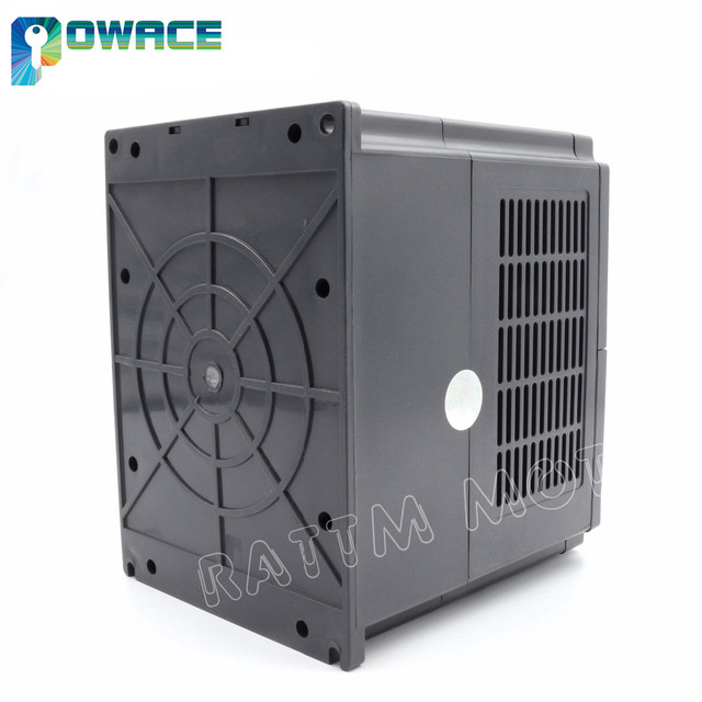 [Ukraine Delivery] 2.2KW 220V HY VFD Inverter 3HP Variable Frequency Drive Output 3 Phase 400Hz+Free 2M Extension Cable