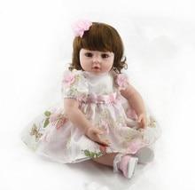Muñeca reborn de 55 cm con Lazo rosa