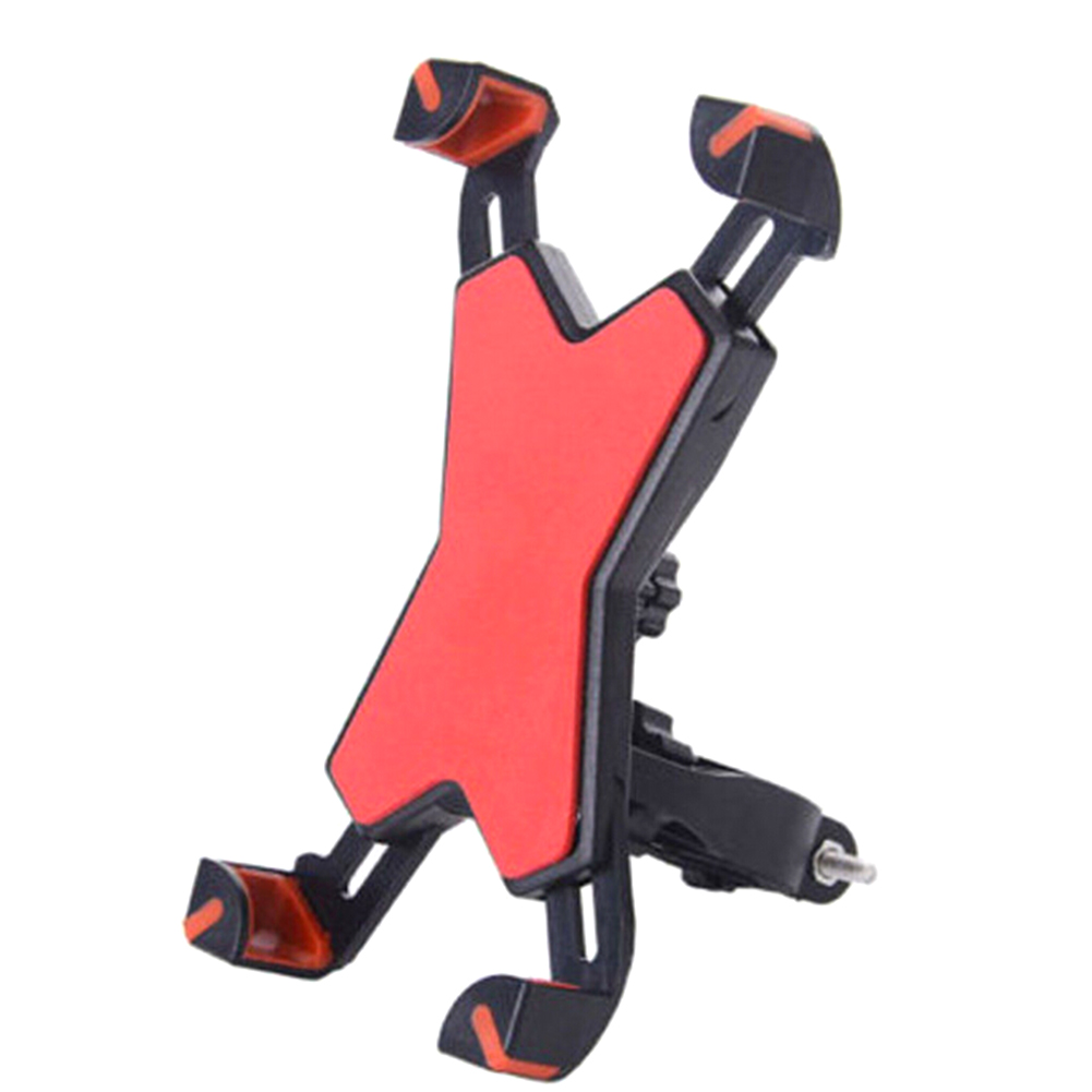 360 Degree Rotation Bicycle Phone Holder Upgraded Bike Holder Support Stand Adjustable Phone Width 3.5 to 7inch