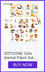 HTB1DUBde81D3KVjSZFyq6zuFpXaI ZOTOONE Cute Cartoon Animal Patches Heat Transfer Iron on Patch for T-Shirt Children Gift DIY Clothes Stickers Heat Transfer G