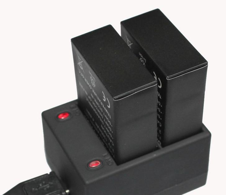 Dual Ladegerät Zubehör Dual Ladegerät und Gopro Hero 3 GoPro 3 Batterie Gopro AHDBT-201 AHDBT-301 AHDBT-302