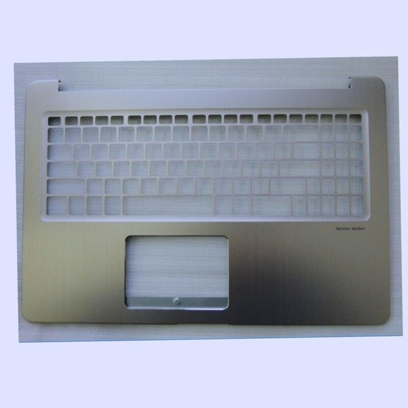 Новый оригинальный ноутбук ЖК задняя крышка/передняя рамка/Подставка для рук верхний чехол/нижний чехол для ASUS N580 N580V N580VD N580VD NONTOUCH/TOUCH - 3