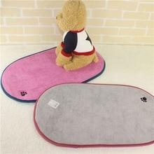 Коврик для собак милое из микроволокна коврик для мытья рук одеяло для отдыха дышащая подушка для домашних животных мягкий теплый коврик для сна дом для собак кошек
