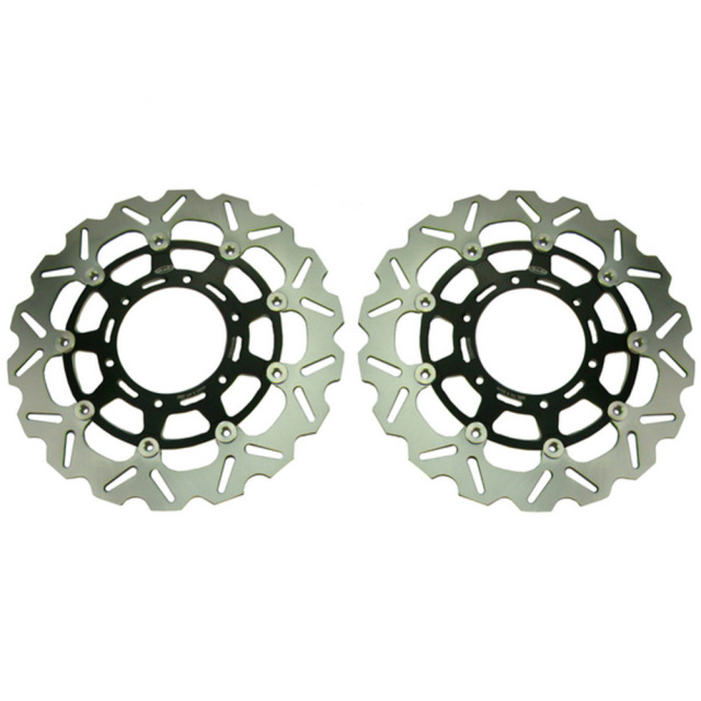 Arashi Front Brake Disc Rotors Set For 2008 2009 2010 2011 GSXR 600 750 K8 & 2009-2011 GSXR 1000 K9