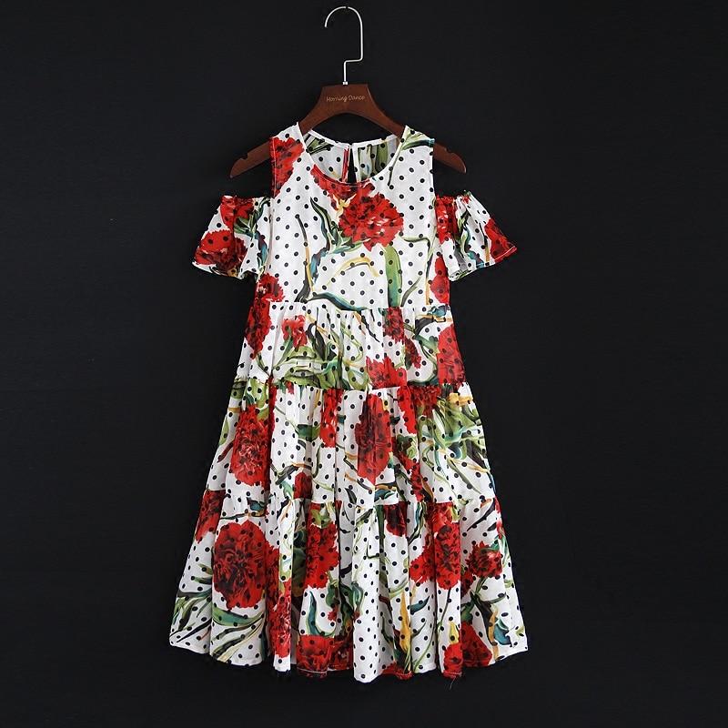 все цены на Summer family custom made clothes kids 100-160cm girls holiday women layered dress Polka Dot mother daughter beach tube dresses