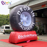FACTORY OUTLET Горячие продаж 3,5 m надувная шина модель для рекламы украшения Популярные Смешные автомобиля игрушка покрышки