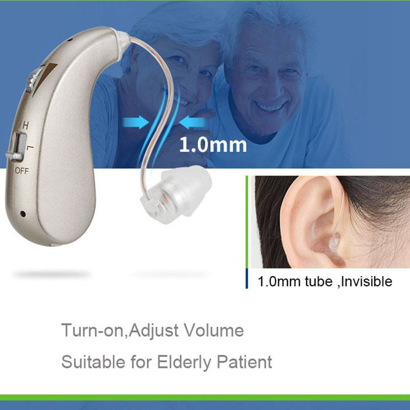 Rechargeable Digital RIC Hearing Aid Hearing Amplifier Ear