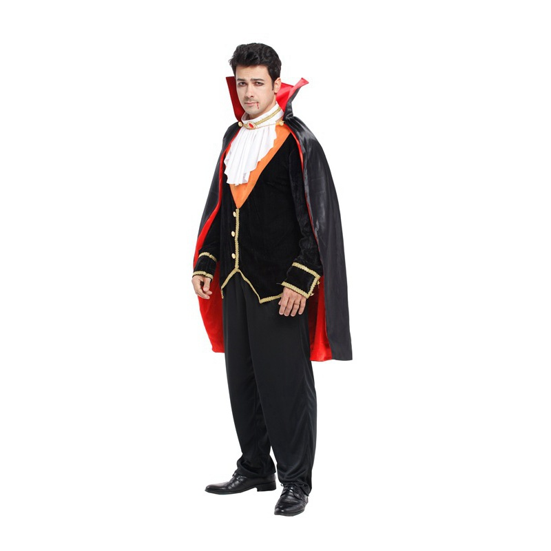 Halloween adult Men Legend V&ire Count Dracula cosplay costumes Fancy Dress Black and red Cloak on Aliexpress.com | Alibaba Group  sc 1 st  AliExpress.com & Halloween adult Men Legend Vampire Count Dracula cosplay costumes ...
