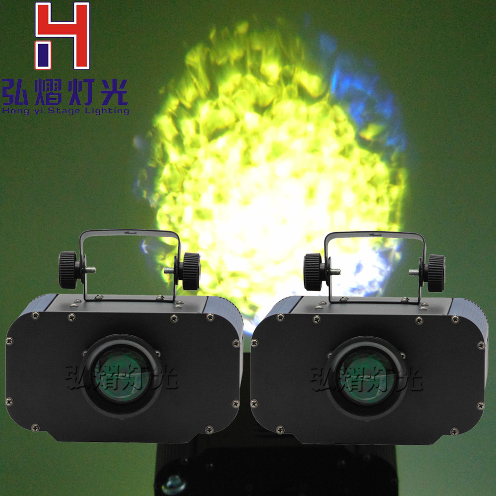2pcs 30W LED Water Effect Light Stage Effect Lighting Bulb Ocean Wave Projector Party Disco Club DJ Light Show