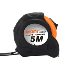 New 5M Self Lock Measuring magnetic Tapes With Hand Strap Belt Clip Double-sided Tape Measure Retractable Easy Read Rubber Case