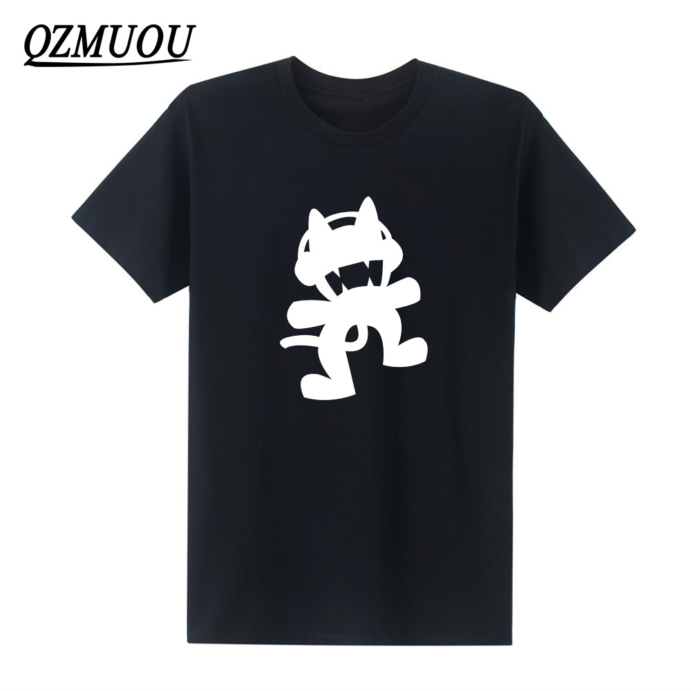 2019 New Summer Famous Movie Cool Tattoo Monstercat T-shirt Cotton Casual Man T Shirts Men O Neck Tops Tees Camisas Short Sleeve