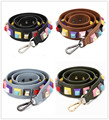 Wide Shoulder Straps 3D Color Flowers Rivet Shoulder Strap Serpentine Bag Ornaments  High Quality Strap You