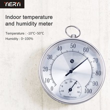 yieryi New HT9100-10CM Indoor Outdoor Thermometer Hygrometer Temperature Meter Humidity measurement range: 0 to 100% RH(China)