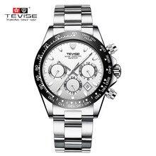 TEVISE Business montres mécaniques hommes montre automatique hommes calendrier lumineux acier inoxydable étanche homme montre bracelet t822a