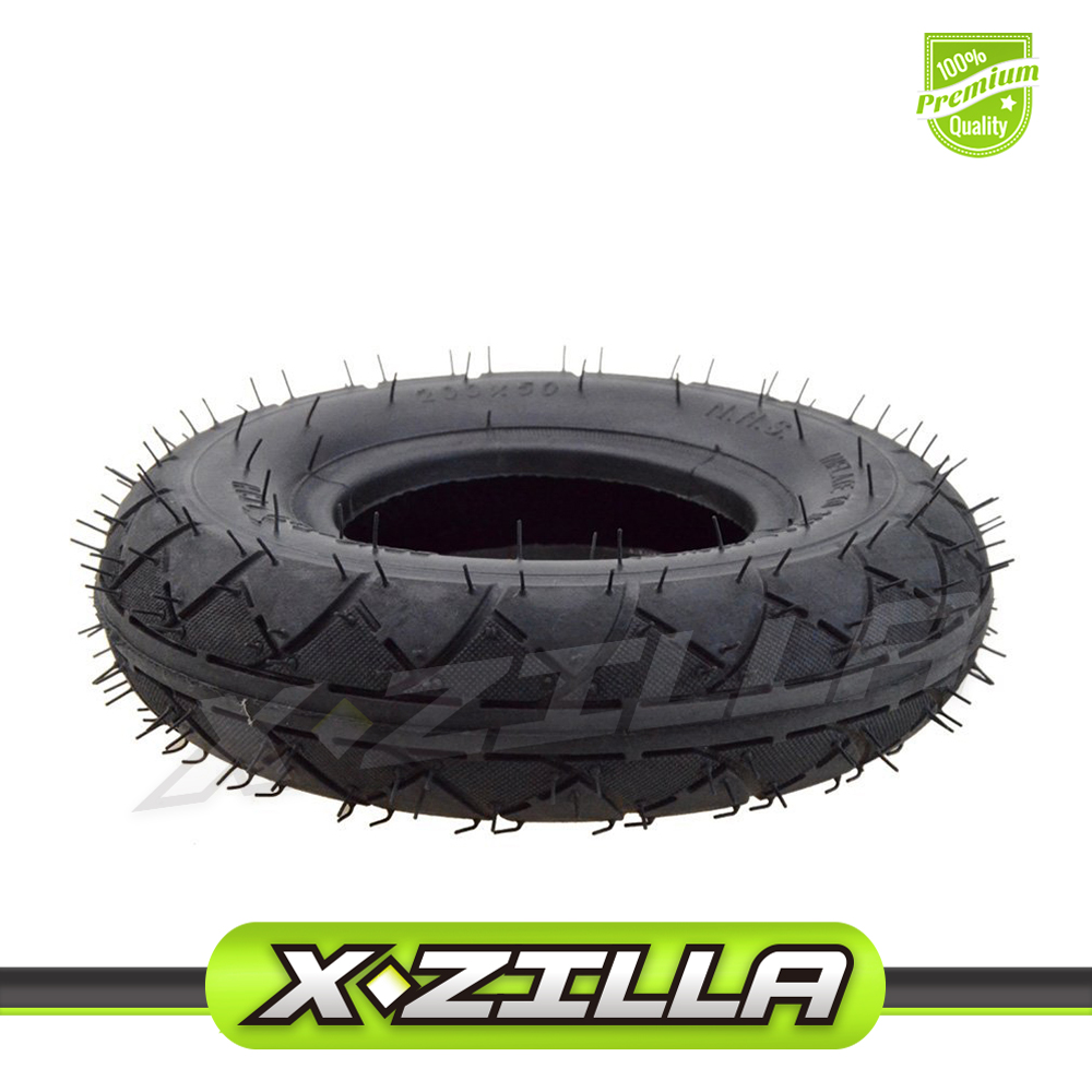 200x50 (8*2) Tire for Razor E100 E150 E200 E225 Epunk Dune Buggy Electric Scooter