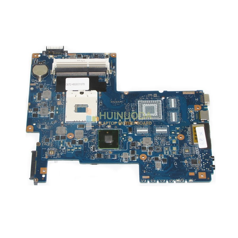 NOKOTION H000031370 Main Board For Toshiba Satellite C670 Laptop Motherboard 08N1-0NC0J00 HM55 DDR3 GMA HD nokotion a000175380 laptop motherboard for toshiba satellite c840 l840 main board ati hd7670m graphics ddr3 daby3cmb8e0