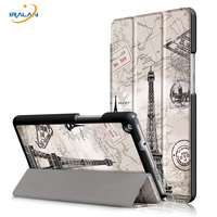 2017 Hot Painted PU Leather Case For Huawei Mediapad M3 Lite 8 0 CPN W09 AL00