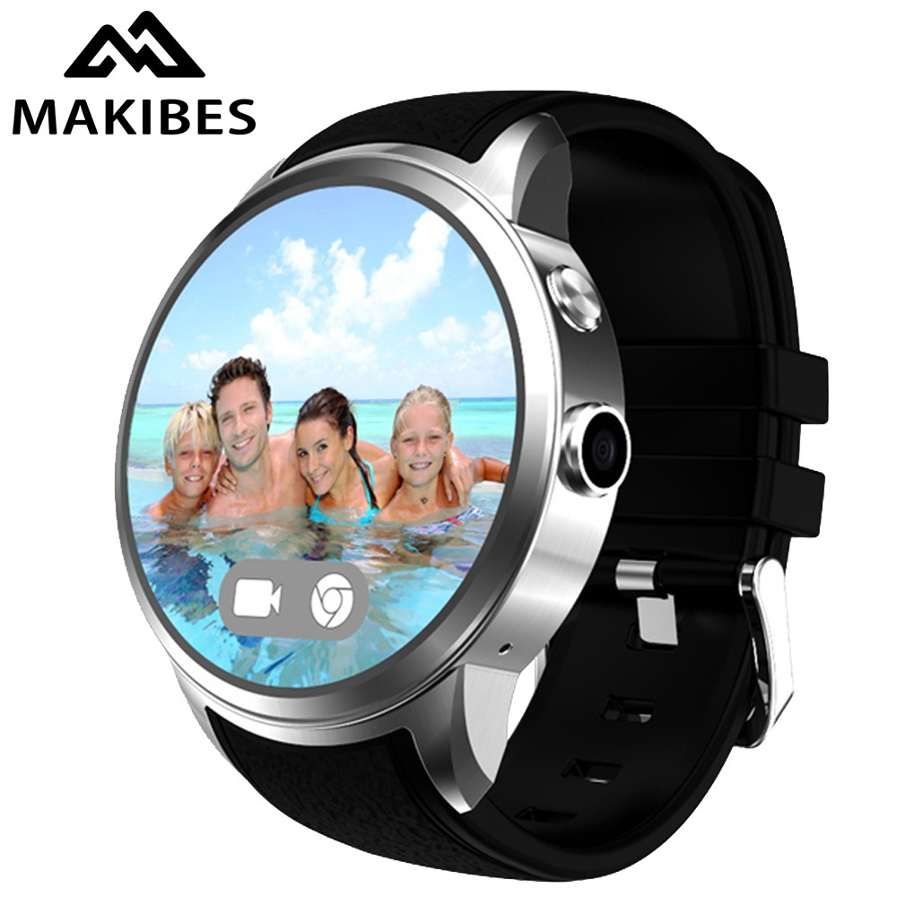 1GB 16GB Makibes X200 Smart Watch Phone 3G WIFI Bluetooth Camera 1.33