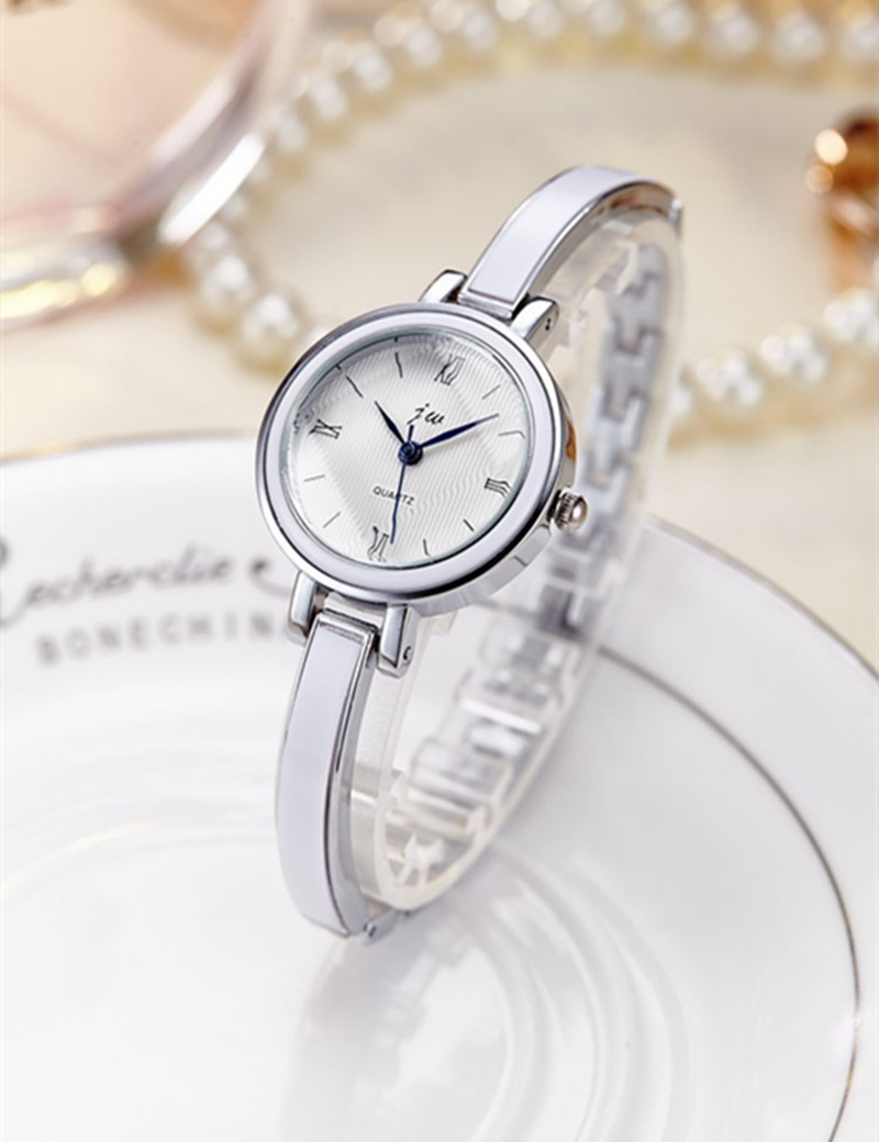 Bracelet Watches Women Top Brand JW Luxury Stainless Steel Fashion Quartz Watch For Dress Wristwatches hours female AC178
