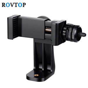 Rovtop Universal Smartphone Tripod Adapter For iphone Samsung Cell Phone Holder