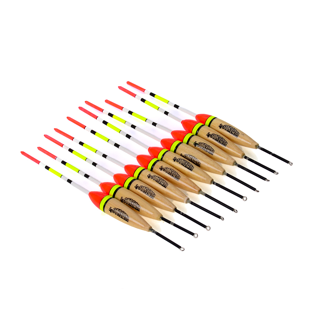 FISH KING Barguzinsky Fir Float balsa bobber 5G fishing 18.5cm 10pcs/set fishing buoys for large float fishing float