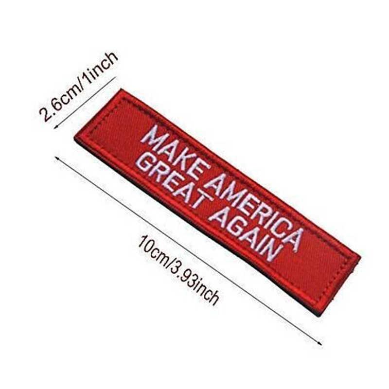 Захватить их по киске Вышитая эмблема Трамп известный бумага нашивка на нарукавную повязку для одежды мешок шляпа Личность аксессуары