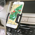 1PC 360 Degree Rotating Car CD Dash Slot Cell Phone Stand Holder Mount for iPhone 6plus 5S for Samsung S6 S5 GPS Bracket Stands