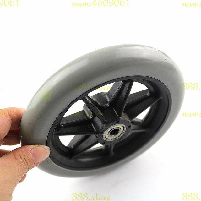 4 piezas de ruedas de 150mm 6 pulgadas ruedas manual para silla de ruedas